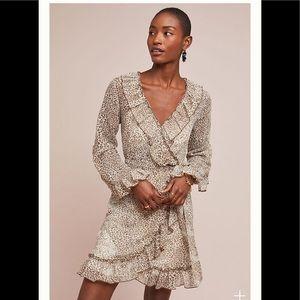‼️NWT Anthropologie Leopard Dress Size XL‼️